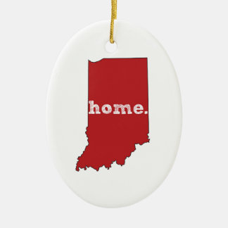 INDIANA PROUD CHRISTMAS ORNAMENT
