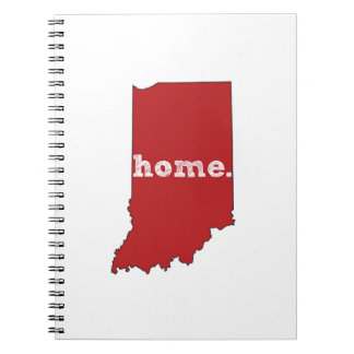 INDIANA PROUD SPIRAL NOTEBOOK