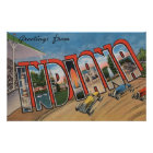 Indiana (Racecar)Large Letter ScenesIndiana Poster