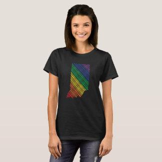 Indiana Rainbow State T-Shirt