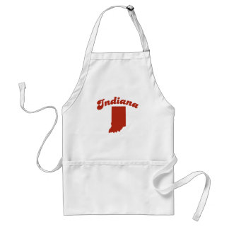 INDIANA Red State Apron