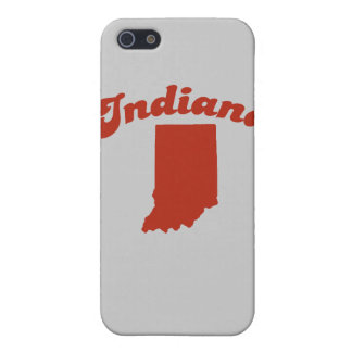INDIANA Red State iPhone 5 Cases