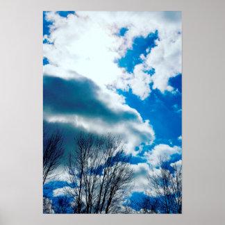 Indiana Sky Poster