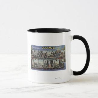 Indiana (Southern) - Large Letter Scenes Mug