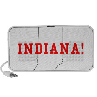 Indiana! Laptop Speaker