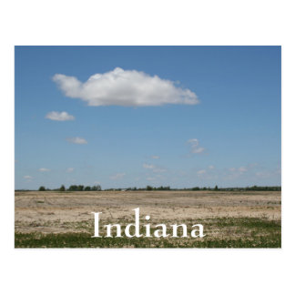 Indiana Spring Day Postcard