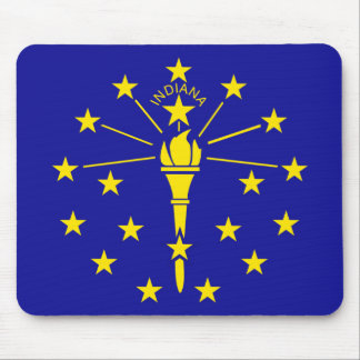 Indiana State Flag Mouse Mat