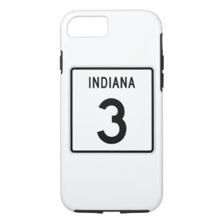 Indiana State Road 3 iPhone 7 Case