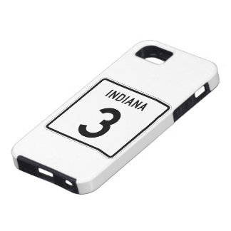 Indiana State Road 3 Tough iPhone 5 Case