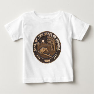 Indiana State Seal Baby T-Shirt
