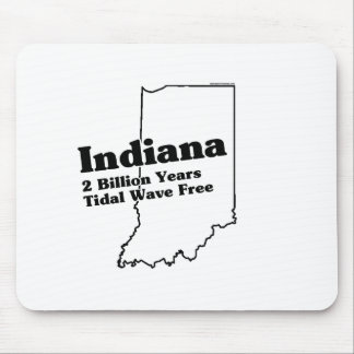 Indiana State Slogan Mouse Mat