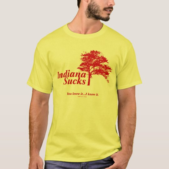 Indiana Sucks T-Shirt