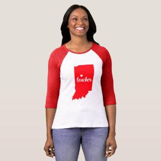 Indiana Teacher Tshirt (Red)