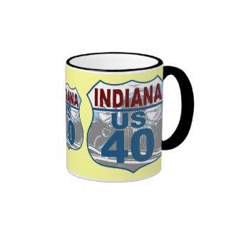 Indiana US Route 40 - Duesenberg Mugs
