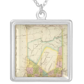 Indiana US Silver Plated Necklace