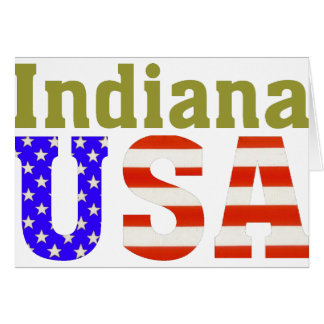 Indiana USA! Card
