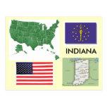 Indiana, USA Postcard