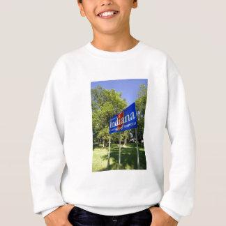 Indiana Welcome Sign Sweatshirt