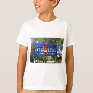 Indiana Welcome Sign T-Shirt