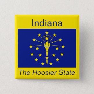 Indianan Flag Button