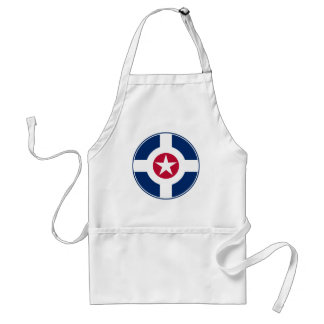 Indianapolis Air Patrol roundel Adult Apron