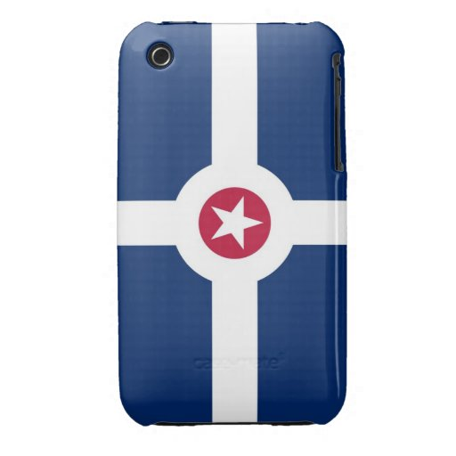 indianapolis american city flag case iPhone 3 cover