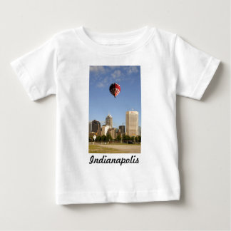 Indianapolis City Skyline Baby T-Shirt