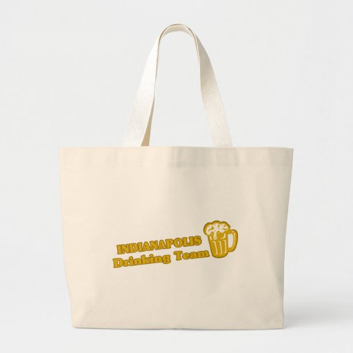 Indianapolis Drinking Team tee shirts Canvas Bag