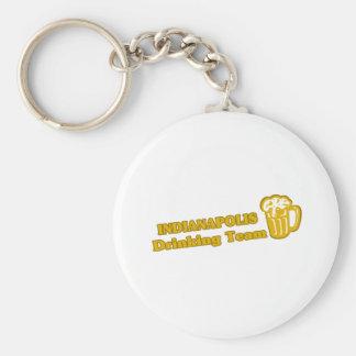 Indianapolis Drinking Team tee shirts Keychain