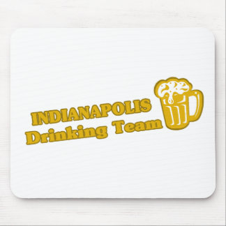 Indianapolis Drinking Team tee shirts Mousepad