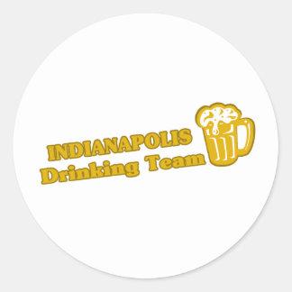 Indianapolis Drinking Team tee shirts Sticker