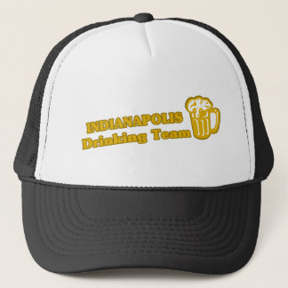 Indianapolis Drinking Team tee shirts Trucker Hat