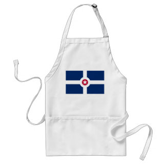 Indianapolis Flag Standard Apron