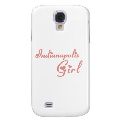 Indianapolis Girl tee shirts Galaxy S4 Covers