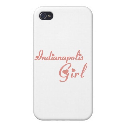 Indianapolis Girl tee shirts iPhone 4/4S Cover