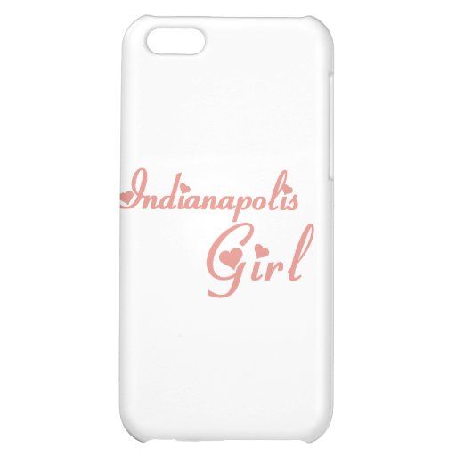Indianapolis Girl tee shirts Cover For iPhone 5C