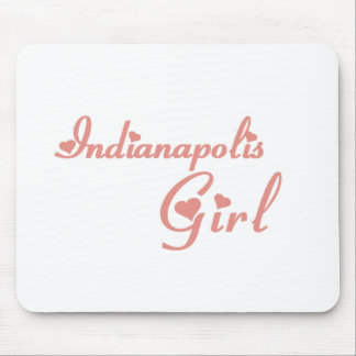 Indianapolis Girl tee shirts Mouse Pad