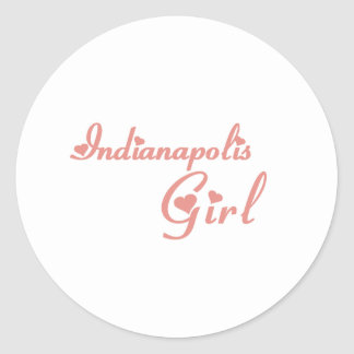 Indianapolis Girl tee shirts Stickers