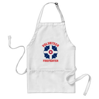 Indianapolis, IN Flag Volunteer Firefighter Cross Aprons