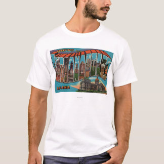 Indianapolis, Indiana (Capital Building) T-Shirt