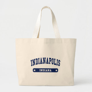 Indianapolis Indiana College Style tee shirts Tote Bags