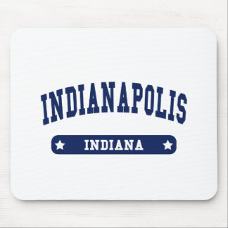 Indianapolis Indiana College Style tee shirts Mouse Pads