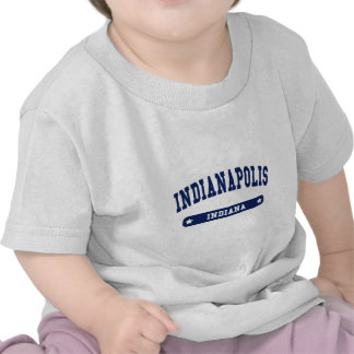Indianapolis Indiana College Style tee shirts