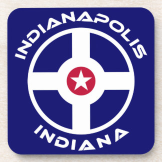 Indianapolis Indiana Drink Coaster