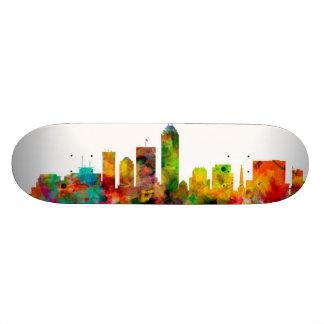 Indianapolis Indiana Skyline 18.1 Cm Old School Skateboard Deck