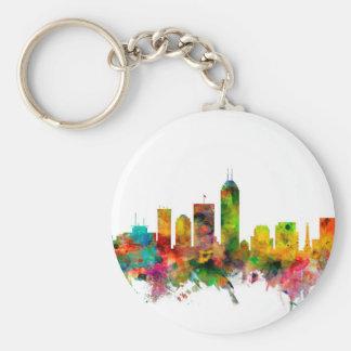 Indianapolis Indiana Skyline Key Ring