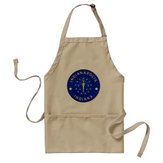 Indianapolis Indiana Standard Apron