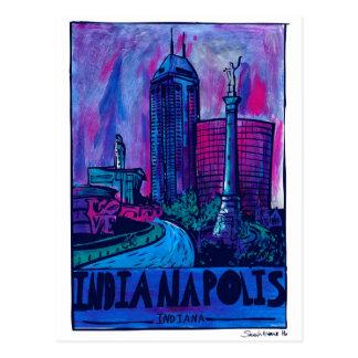 Indianapolis Postcard (acrylic)