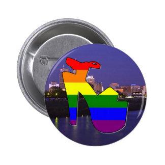 Indianapolis Pride 6 Cm Round Badge