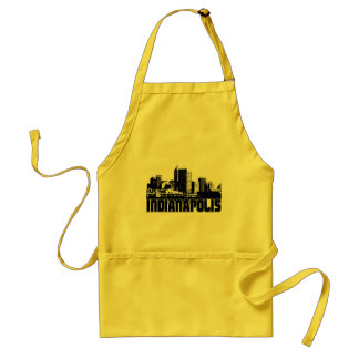 Indianapolis Skyline Standard Apron